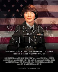 "DVD cover of ""Surviving the Silence."""