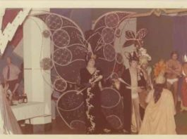 The Emma Jones Society hosted an annual drag show in the early 1970s in Pensacola Florida