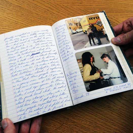 personal diaries written by transgender activist Lou Sullivan