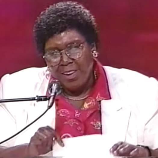 Barbara Jordan in 1992