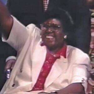 Barbara Jordan at the 1992 DNC