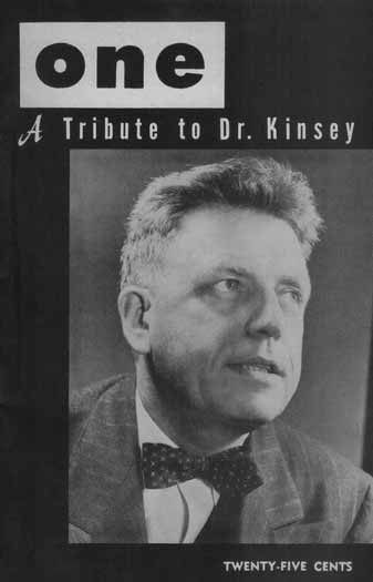 Alfred Kinsey on the cover of