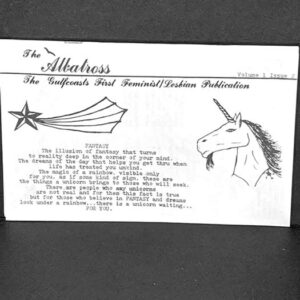 """Albatross"" lesbian publication that served the Gulfcoast"