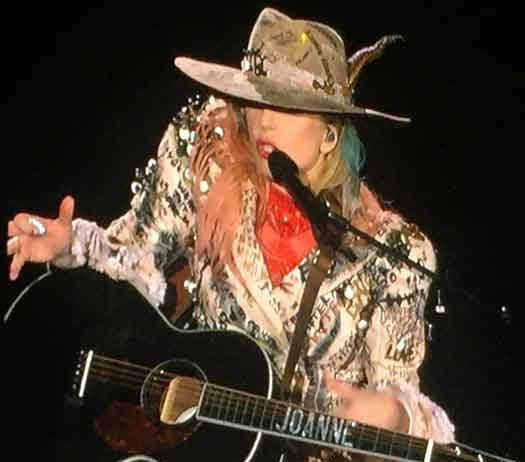 "Lady Gaga on the ""Joanne World Tour"""