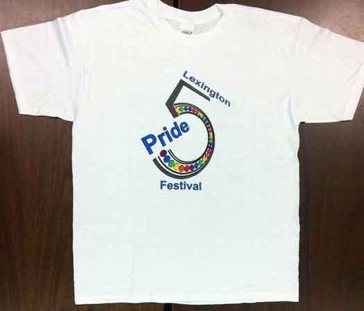 Lexington Kentucky Gay Pride shirt that printer refused to print in 2012