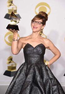 Lisa Loeb at the Grammys