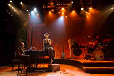 """""""Little Girl Blue: The Nina Simone Musical"""" features Laiona Michelle at George Street Playhouse. Photos by T. Charles Erickson."""