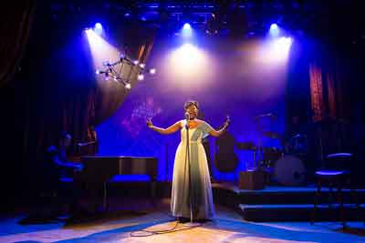 """Little Girl Blue: The Nina Simone Musical"" features Laiona Michelle at George Street Playhouse. Photos by T. Charles Erickson."