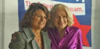 Luanne Peterpaul with Edie Windsor in this 2013 Garden State Equality file photo