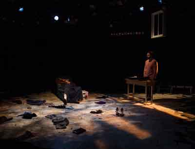 "Luna Stage production ""Heartland"" with Brian Corrigan and Kareem Badr. Photo by Jody Christopherson"