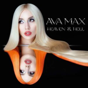 "Album cover of Ava Max latest ""Heaven & Hell"""