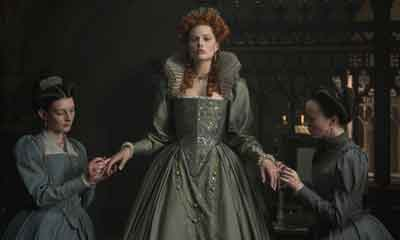 """Margot Robbie in a scene from """"Mary Queen of Scots"""" from Focus Features"""