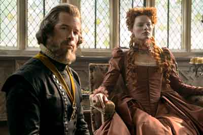 "Margot Robbie in a scene from ""Mary Queen of Scots"" from Focus Features"