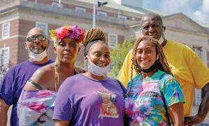 Sergio Granados, Rebecca Williams and New Jersey LGBTQ advocates