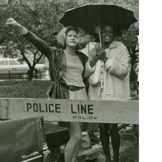 Marsha P Johnson and Sylvia Diana Davies