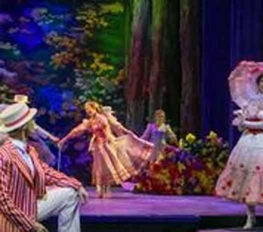 """Mary Poppins"" at the Paper Mill Playhouse photos by Matthew Murphy"