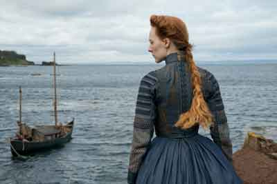 "Saoirse Ronan in ""Mary Queen of Scots."""