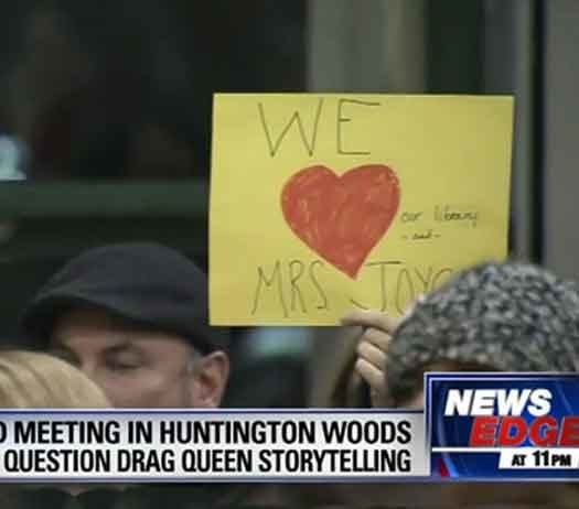 Mass Resistance is against Drag Queen story hour