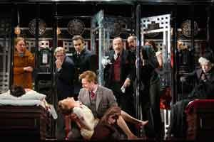"""""""Murder on the Orient Express"""" successfully blends farce, suspense, and death at McCarter Theatre"""