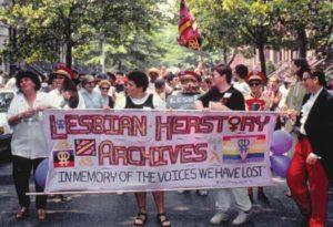 Lesbian Herstory Archives banner