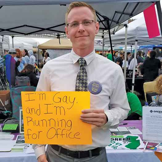 Mico Lucide NJ District 2 Green Party candidate in 2017