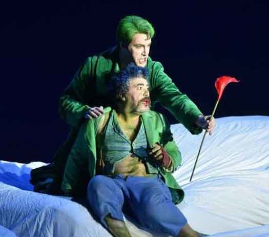 """A Midsummer Night's Dream"" is Opera Philadelphia's latest production. Photos by Kelly and Massa."