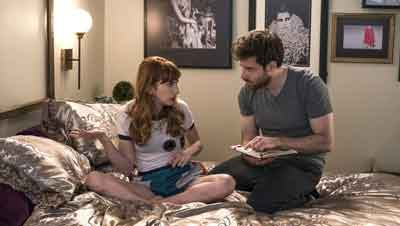Molly Bernard and co-star Ben Rappaport on the new TV Land show