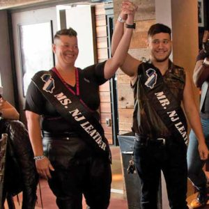 Ms. New Jersey Leather, Gretchen, and Mr. New Jersey Leather, Bobby