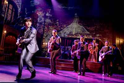 """My Very Own British Invasion"" with Jonny Amies (Peter) and the company. Photo by Evan Zimmerman for MurphyMade"