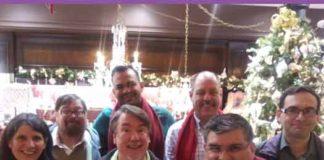 NJGMC members in back row: Thom Reese, Rey Joé García, Tom Myers, Leyland Brenner Front row: Patty Mancuso, Tim Ryan, Richard Alagona.