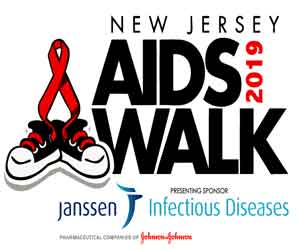 NJ AIDS Walk 2019 promotion banner ad