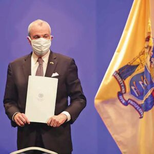 NJ Governor Phill Murphy in 2021