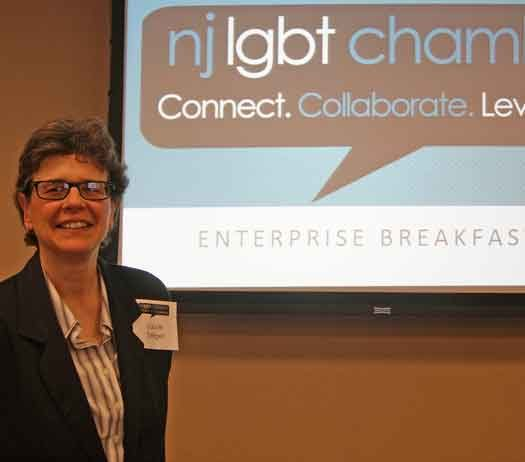 Laura Seliger of the NJ LGBT Chamber of Commerce