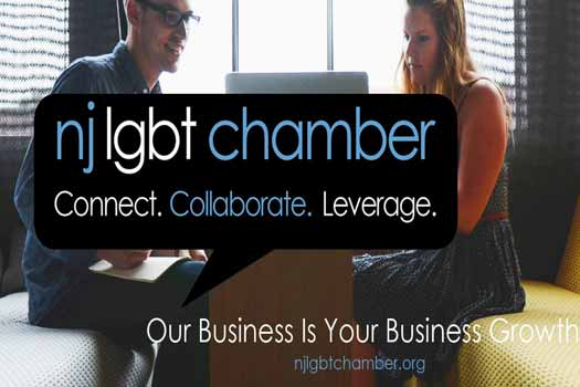 NJ LGBT Chamber of Commerce logo and photo