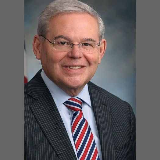 U.S. Senator Bob Menendez of New Jersey