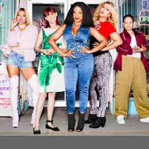"Neicy Nash and the cast of ""Claws"" TV Series on TNT"