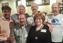 Networking with Style hosts at Fiddleheads Restaurant in 2016.