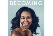 "Cover of Michelle Obama book ""Becoming"""
