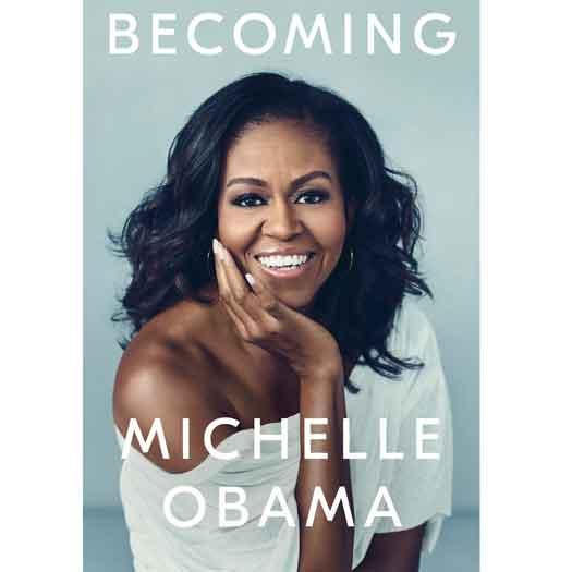Cover of Michelle Obama book