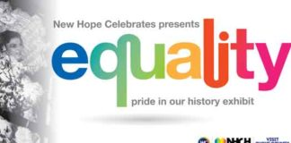 New Hope Celebrates LGBT History exhibit 2019