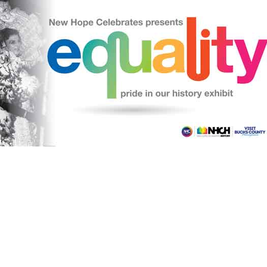 New Hope Celebrates LGBT History exhibit 2019