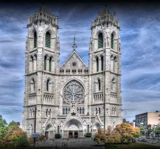 Cathedral Basilica of the Sacred Heart in Newark, NJ