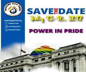 Newark Gay Pride banner ad