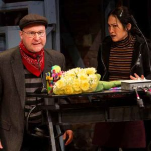 """Scene from """"Noises Off"""" at Two River Theater. Photos by T. Charles Erickson"""