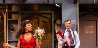 """""""Noises Off"""" at Two River Theater photos by T. Charles Erickson"""