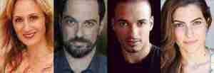 """Actors in """"Noura"""" at McCarter Theatre"""