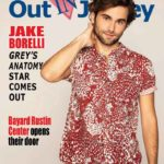 The cover of the April/May 2019 issue of Out In Jersey magazine