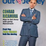 Out In Jersey magazine April/May 2020 cover with Conrad Ricamora