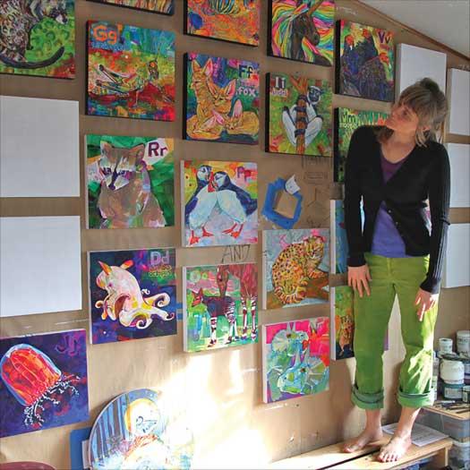 Artist Gwenn Seemel