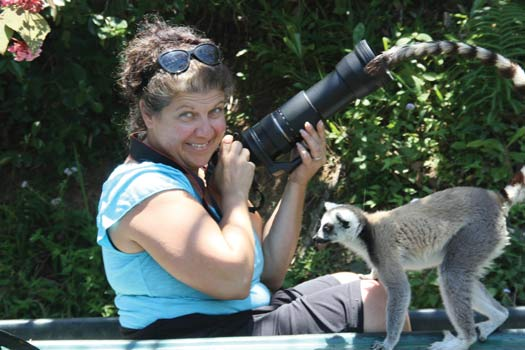 Wildlife and nature photographer Marianne Leone